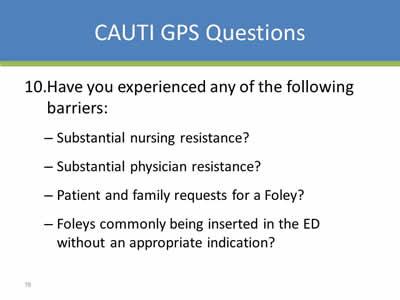 nursing research cauti
