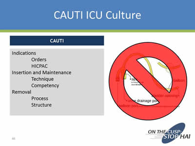 Preventing Cauti In Specialized Patient Populations The