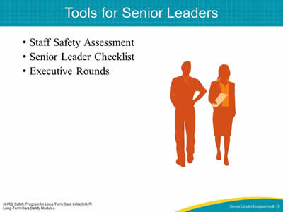 Tools for Senior Leaders