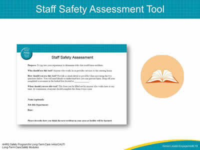 Staff Safety Assessment Tool