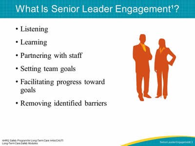 What Is Senior Leader Engagement?