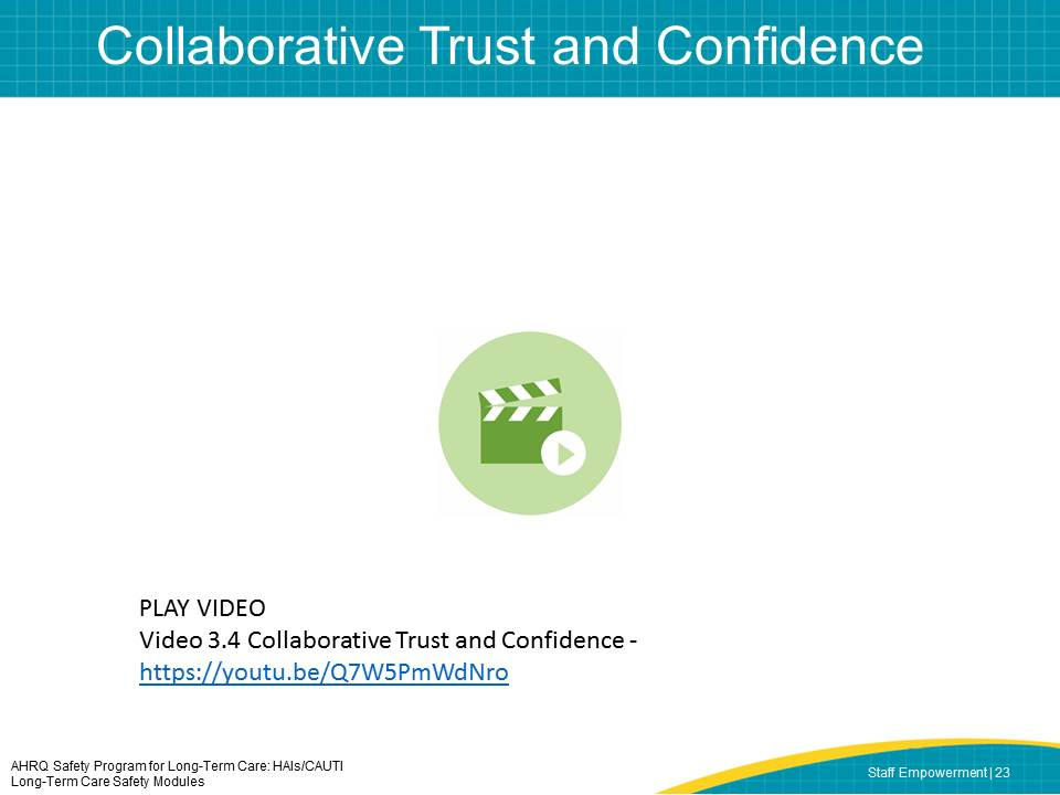 Collaborative Trust and Confidence