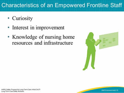Characteristics of an Empowered Frontline Staff
