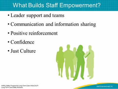 What Builds Staff Empowerment?