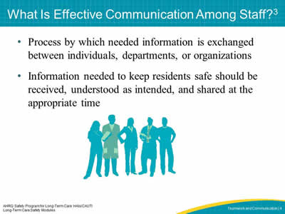 What Is Effective Communication Among Staff