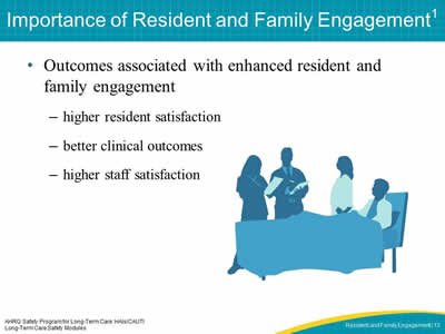 Importance of Resident and Family Engagement