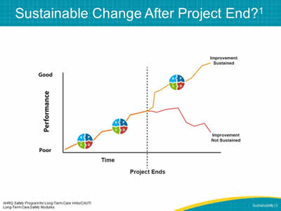 Sustainable Change After Project End