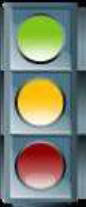 Icon of a traffic light.