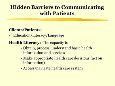 Health Literacy: Hidden Barriers and Practical Strategies