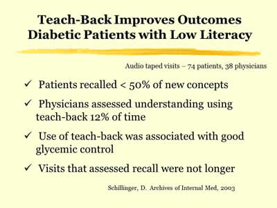 teaching plan for a diabetic patient The teaching plan for a patient with diabetes should include: diet, administration, possible adverse effects of medication, exercise, blood glucose monitoring, .