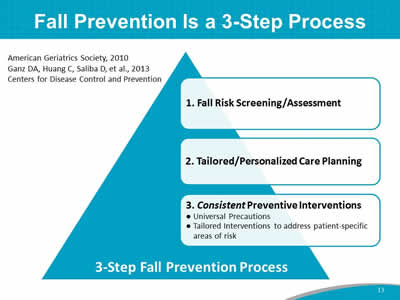 Module 3 Best Practices In Fall Prevention Slide