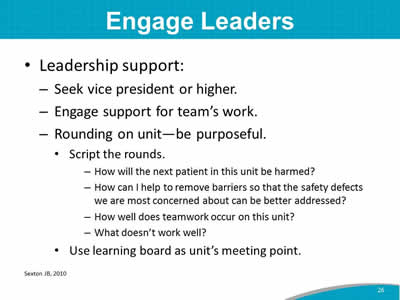Engage Leaders