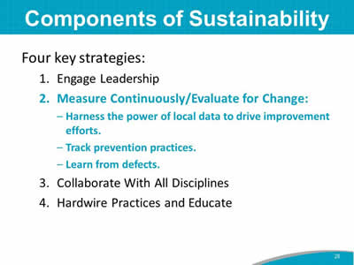 Components of Sustainability