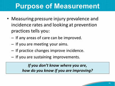 Purpose of Measurement