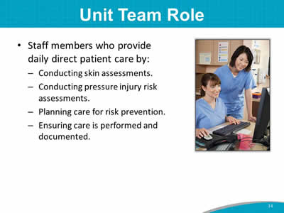 Unit Team Role
