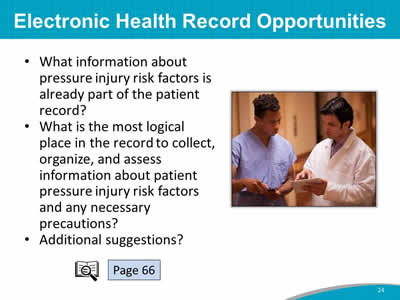 Electronic Health Record Opportunities
