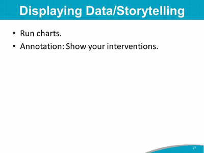Displaying Data/Storytelling