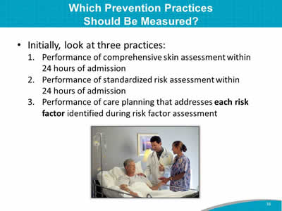 Which Prevention Practices Should Be Measured?