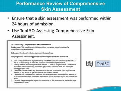 Performance Review of Comprehensive Skin Assessment