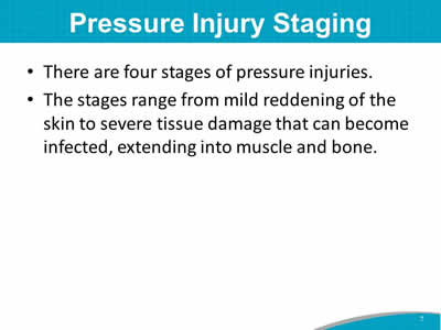 Pressure Injury Staging