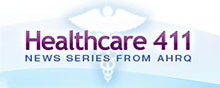 Ad tile image for the Healthcare 411 web site