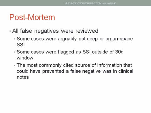 project post mortem report