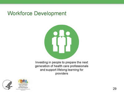 Slide 29. Workforce Development.