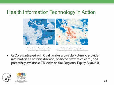 Slide 41. Health Information Technology in Action.